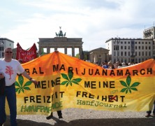Globale Proteste gegen Cannabis-Prohibition