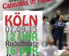 2. Kölner Dampfparade 2013 – Cannabis in Medicine!