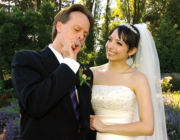 Marc mit seiner Frau Jodie Emery