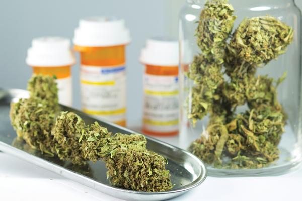 Colchicin und Cannabis