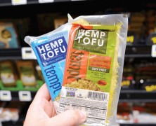Tofu mal ganz Ausgefallen: aus Hanf