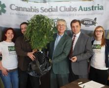 Erste Cannabis-Pressekonferenz in Österreich