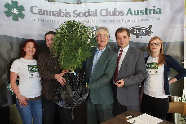 Cannabis Pressekonferenz - Hanf-Institut