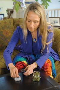 female-vaping-marijuana-knitting_6013