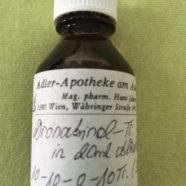 Dronabinol verdampfen