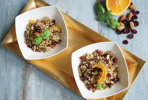 Hanfsamen + Quinoa Sommerliches Superfood