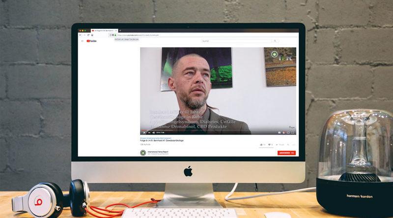 Youtube-Kanal über medizinisches Cannabis: I.H.R.